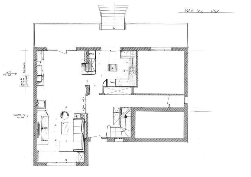 Pavillon-plan