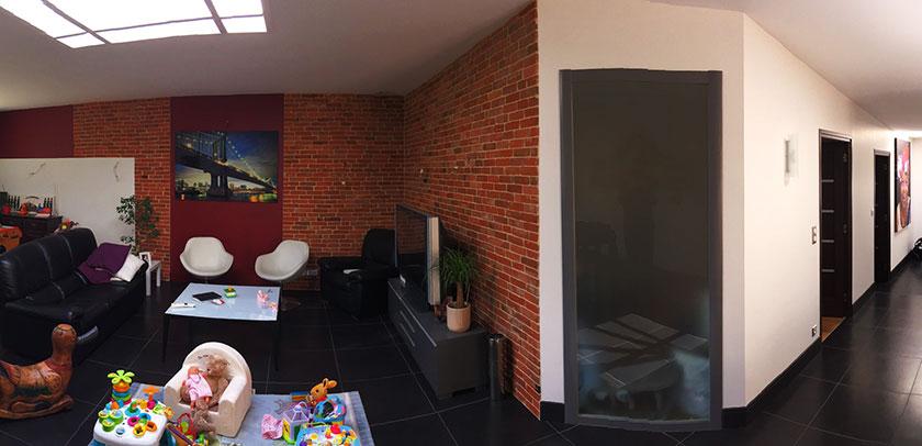 Maison moderne façon loft